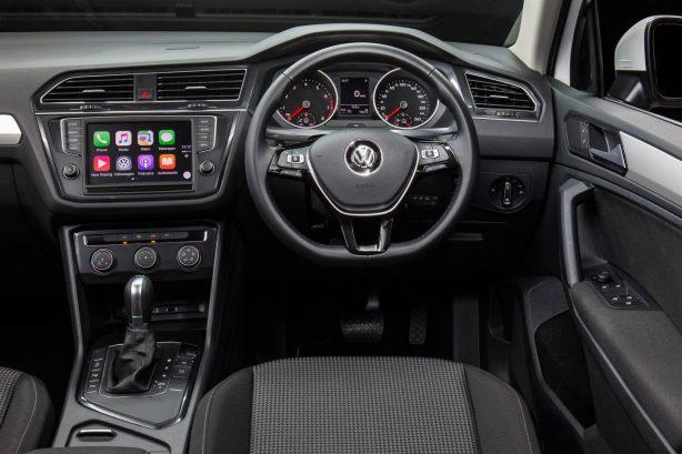 2017 Volkswagen Tiguan Trendline Interior
