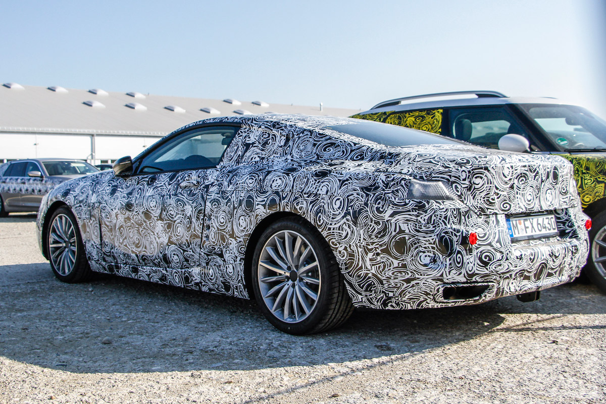 Bmw 8 Series Spied For The First Time Range To Include M8