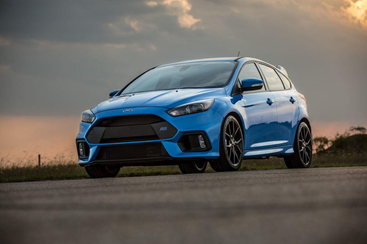 Ford Focus Rs Boosted By Hennessey Performance Forcegt Com