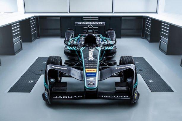 Jaguar Panasonic Formula E I-TYPE front profile