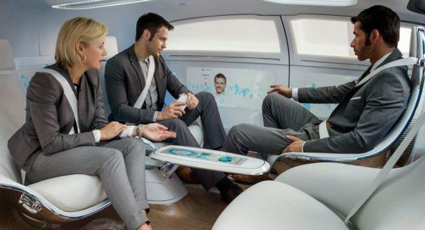 mercedes-benz f015 concept interior