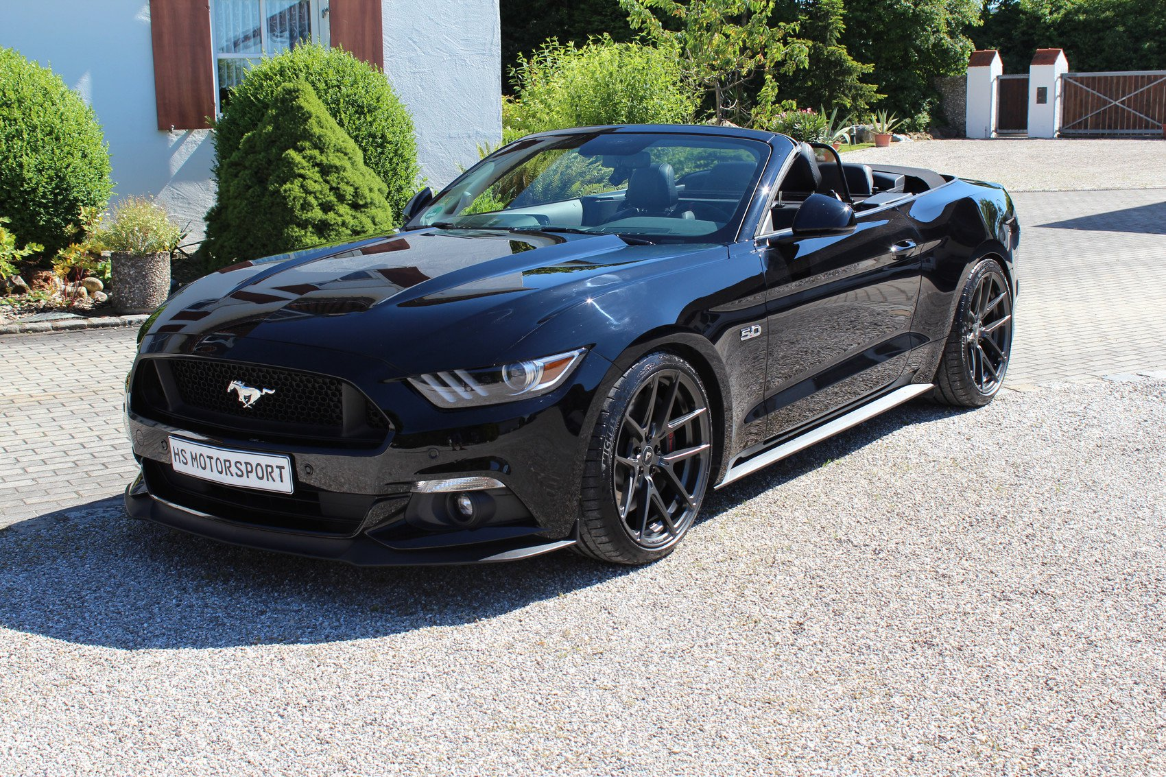 Hs motorsport ford mustang gt convertible tuning 1