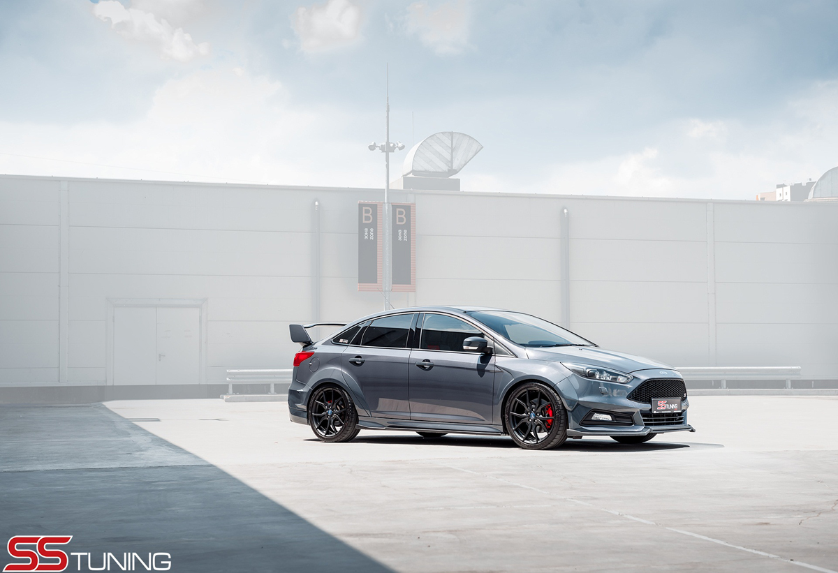 SS Tuning presents Ford Focus ST sedan - ForceGT com