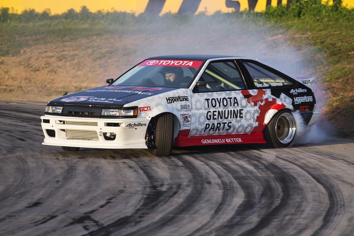 Drift King Keiichi Tsuchiya Unveils Restored Toyota Ae86