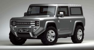 2004 Ford Bronco concept front three quarter
