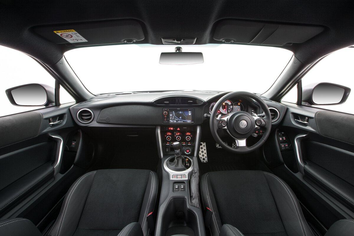 2017 Toyota 86 Gts Interior