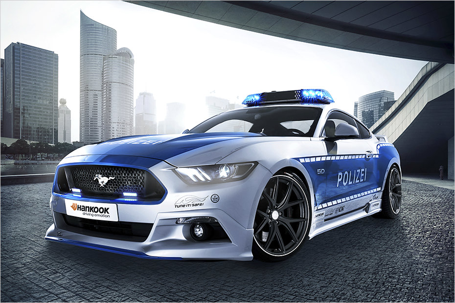 Ford Mustang As New Street Weapon For Australian Police