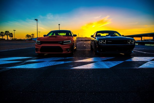 dodge-challenger-and-dodge-charger-front