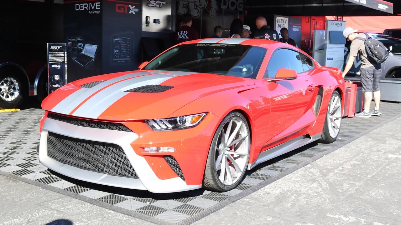 Zero To 60 Design Unveils Its Striking Mustang Gtt At Sema