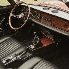 Fiat Spider 124 Interior