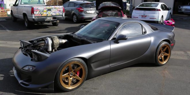 Rob Dahm's Project Ahura RX7: The ultimate rotary-engined vehicle