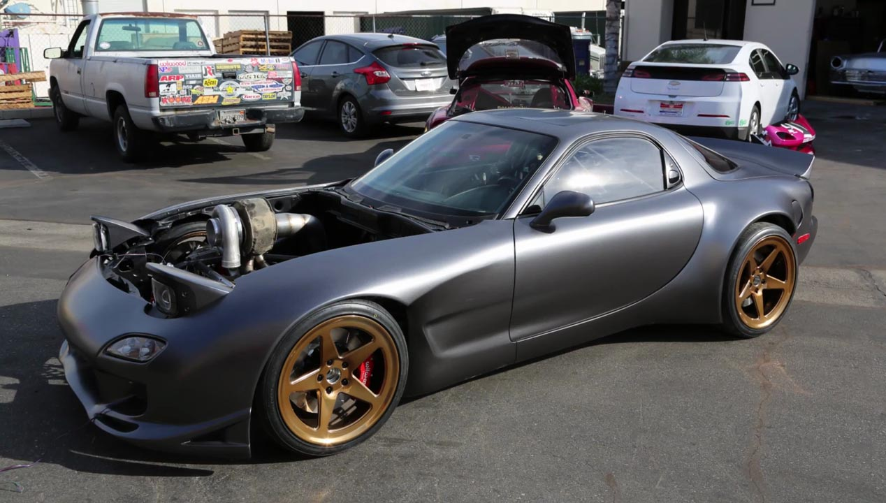 Rob Dahms Project Ahura Rx7 The Ultimate Rotary Engined Vehicle Mazda Wiring Housing Dahm