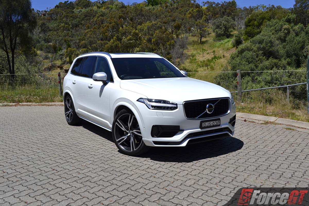 volvo xc  twin engine  design review