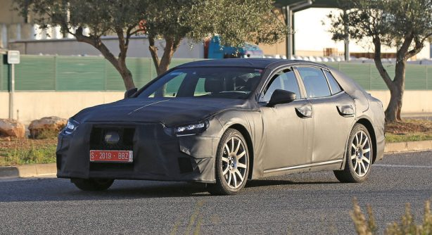 2018-lexus-ls-prototype-spy-photo-front-quarter