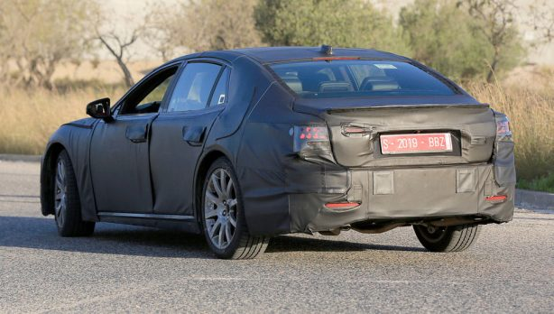 2018-lexus-ls-prototype-spy-photo-rear-quarter