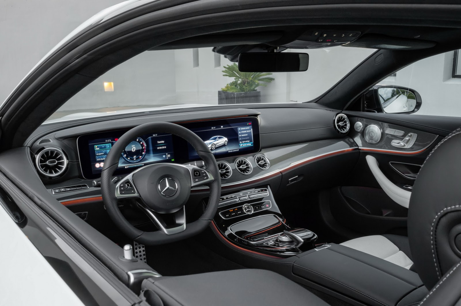 2018 Mercedes Benz E Class Coupe Amg Line Interior Forcegt Com