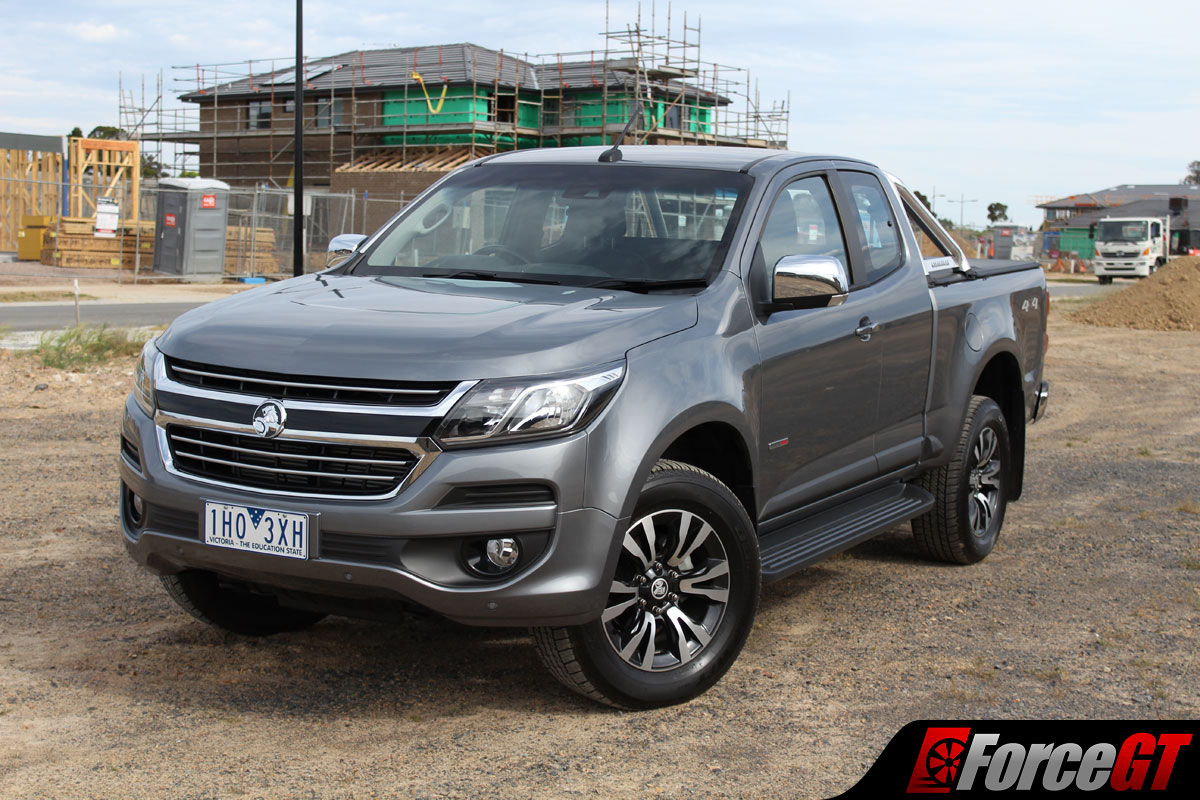 holden colorado review ltz space cab