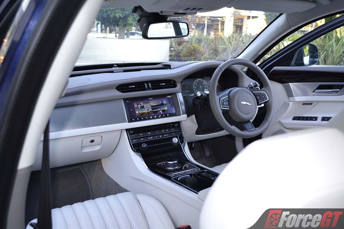 2017 jaguar xf interior - ForceGT.com