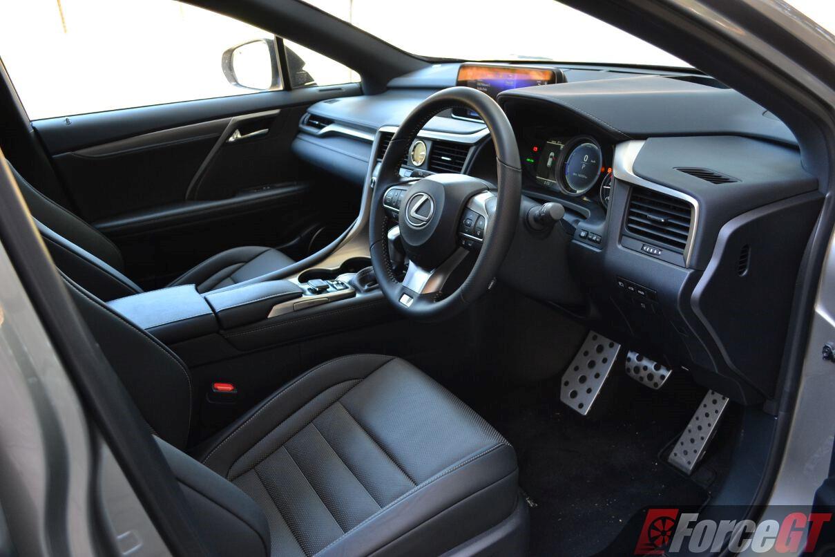 rx450h 2017 interior