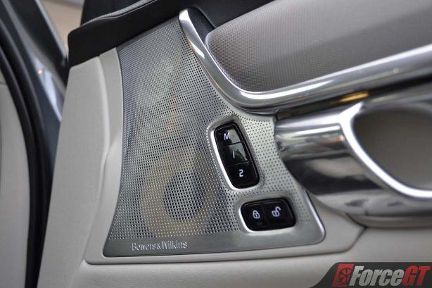 2017 volvo s90 speaker grille
