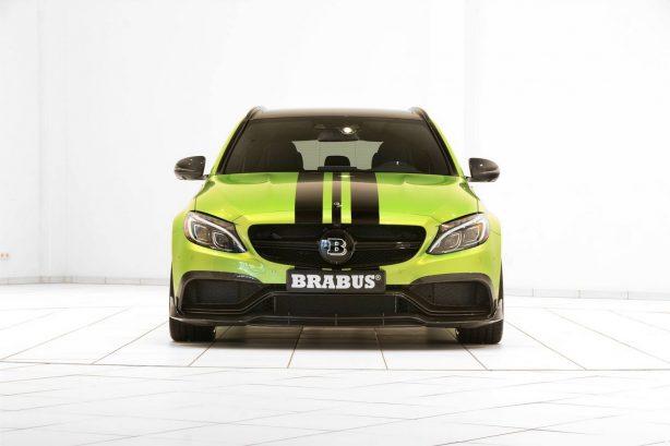 brabus 650 mercedes-amg c63 s front