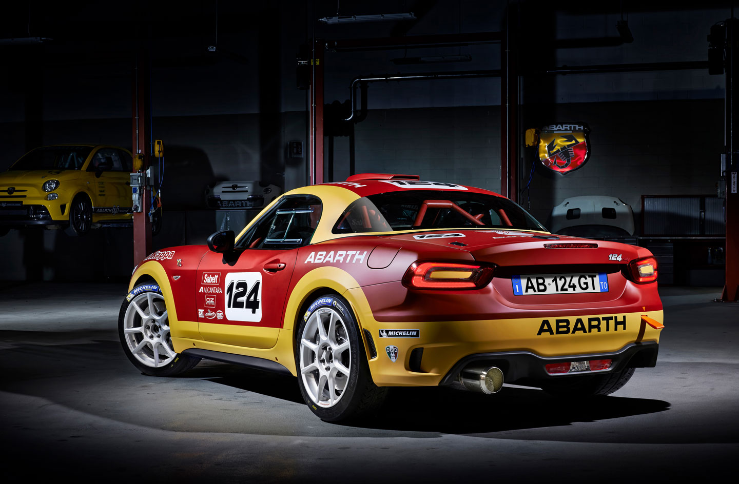 Fiat Abarth 124 Rally makes racing debut at 85th Monte Carlo