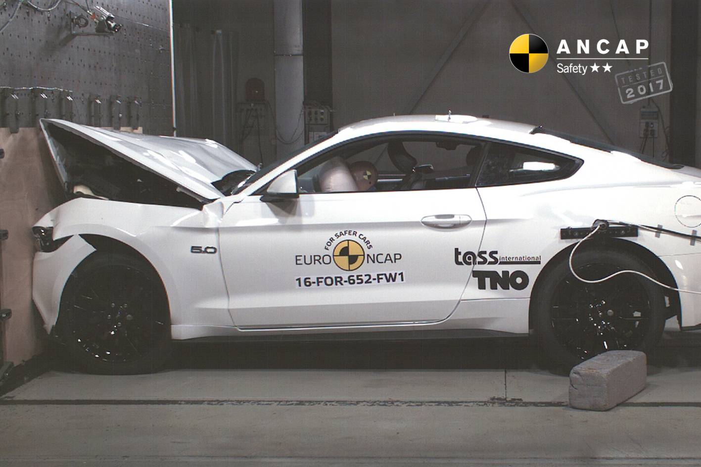 Ancap Awards Ford Mustang A Concerning 2 Star Safety
