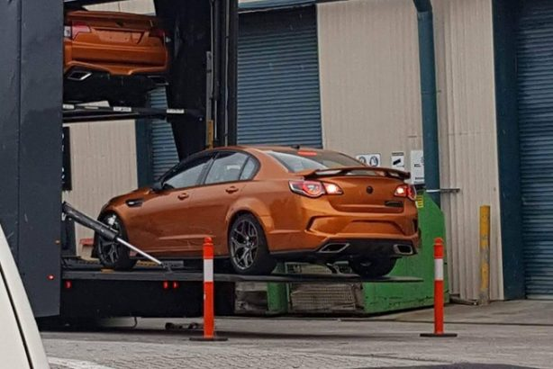 holden special vehicle gts-r w1 spy photo rear