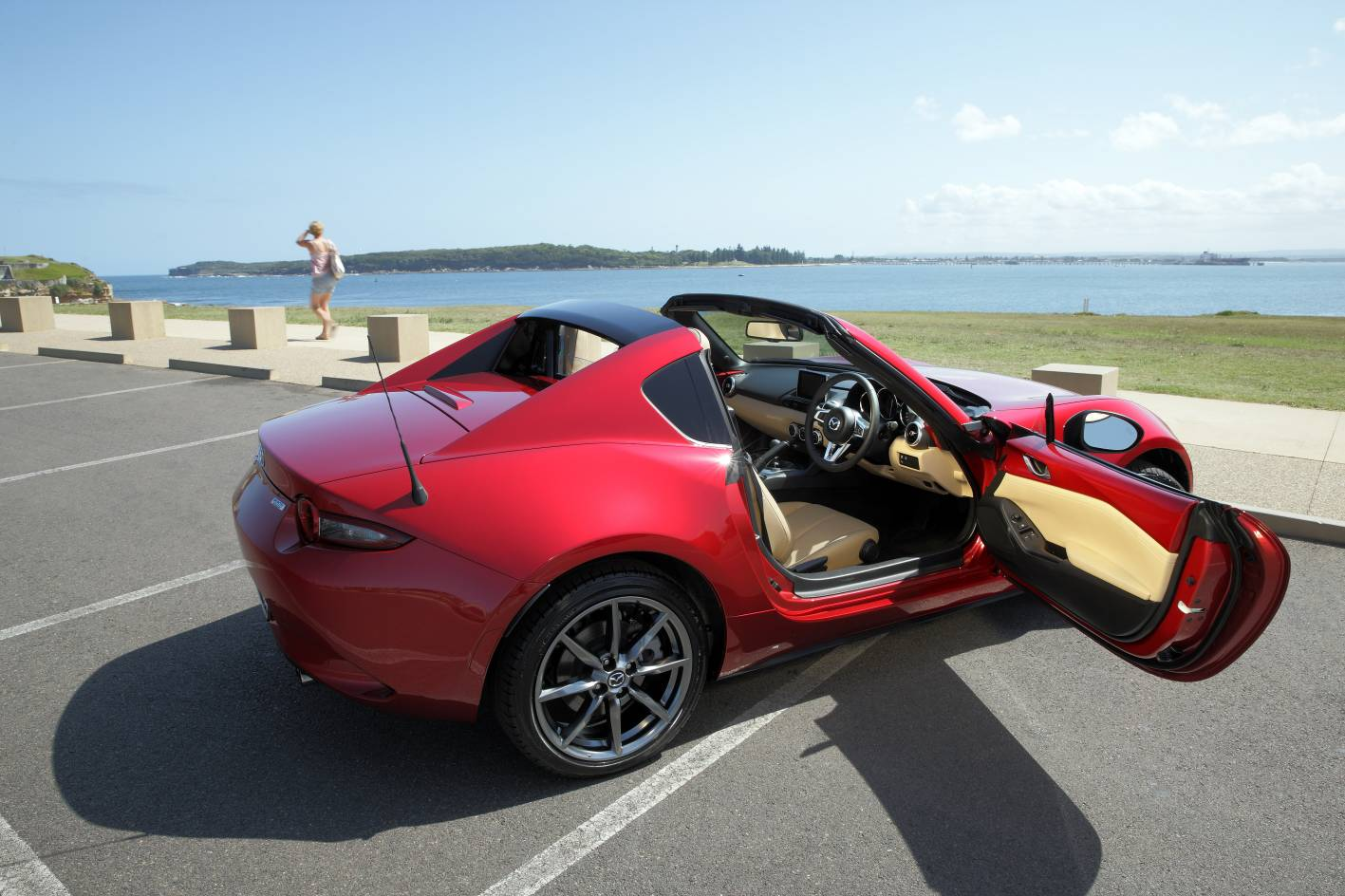 hardtop mazda mx 5 rf arrives from 38 550. Black Bedroom Furniture Sets. Home Design Ideas