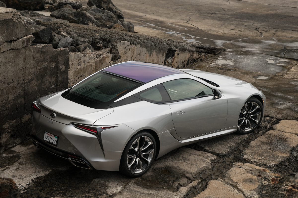 lexus showcases stunning details of lc coupe in new photos. Black Bedroom Furniture Sets. Home Design Ideas