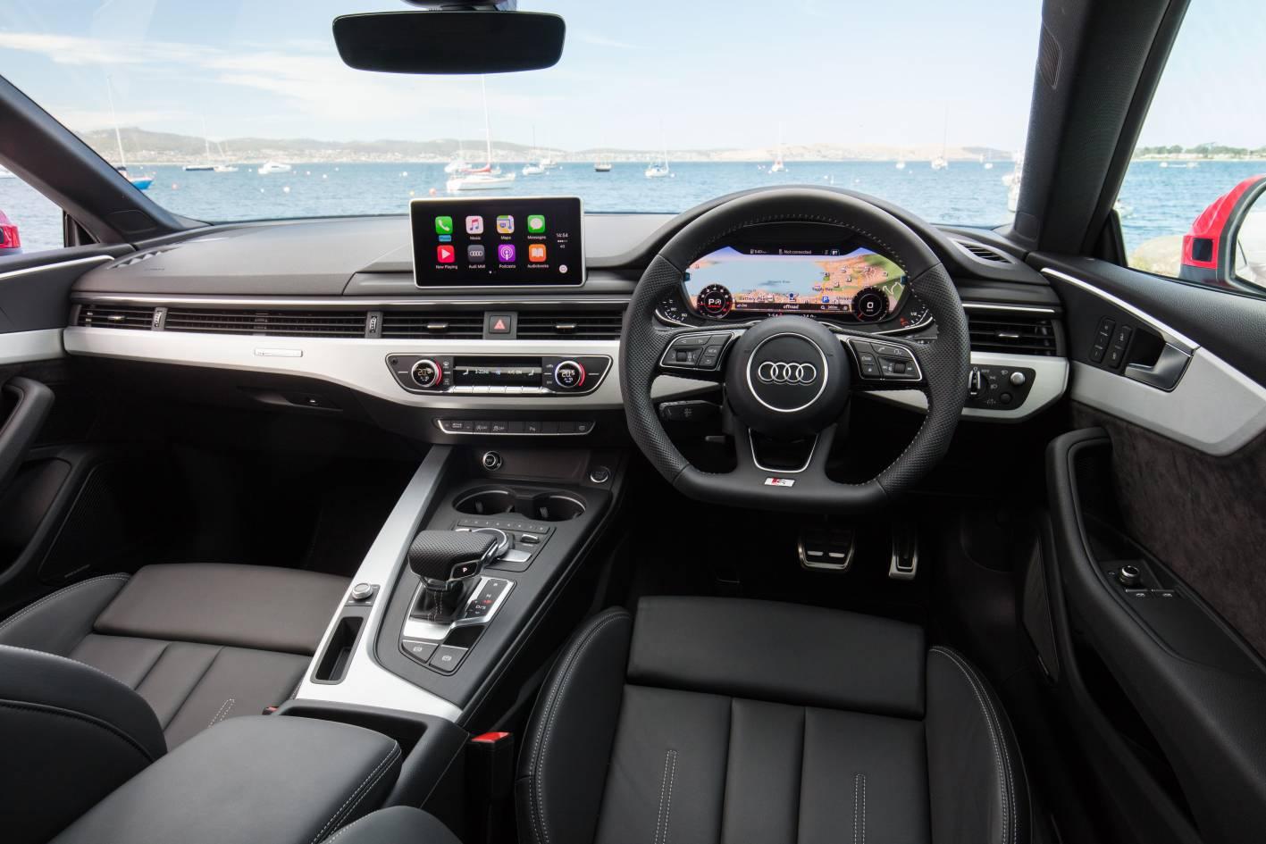 2017 Audi A5 Quattro Interior