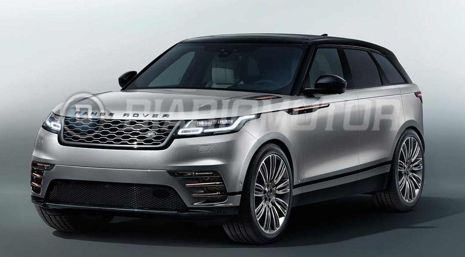 New Range Rover Velar Revealed In Leaked Images Forcegt Com