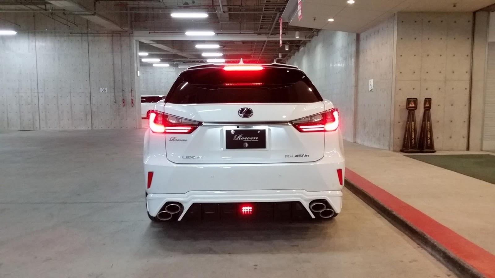 Lexus Nx Vs Rx >> Rowen dials up Lexus RX F Sport's visual aggression ...