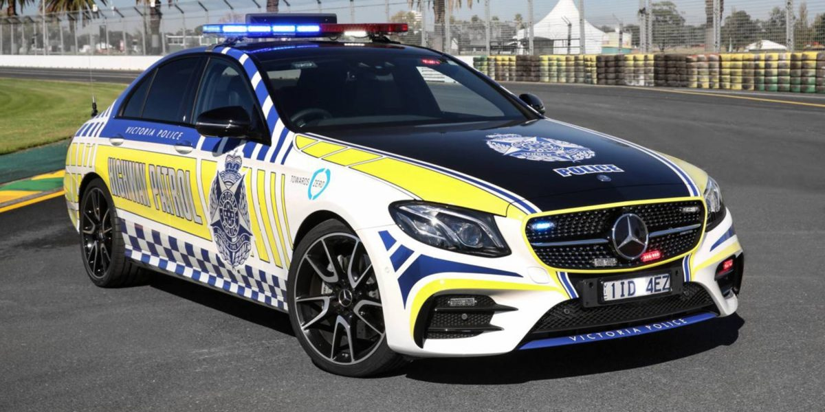 Mercedes Benz Police Car Victoria