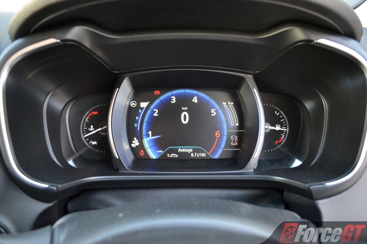 2017 Renault Koleos Zen Digital Instrumentation Forcegtcom