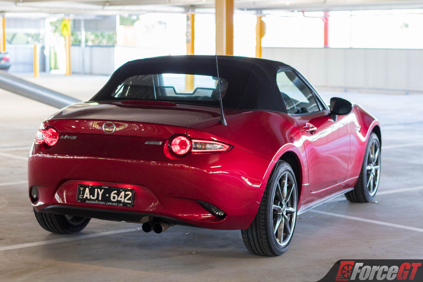 Mazda Mx Roadster Gt Rear Roof Up