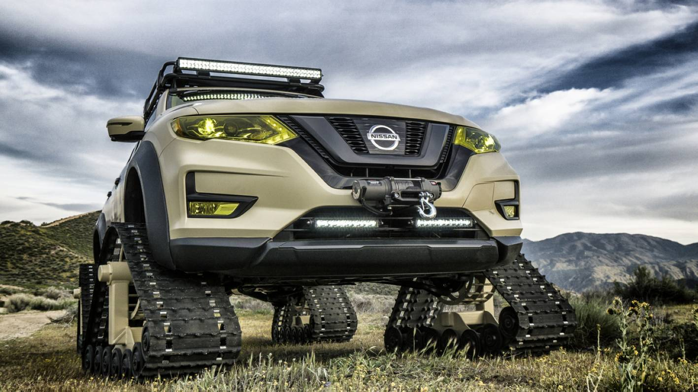 Nissan Rogue Trail Warrior looks set for adventure ...
