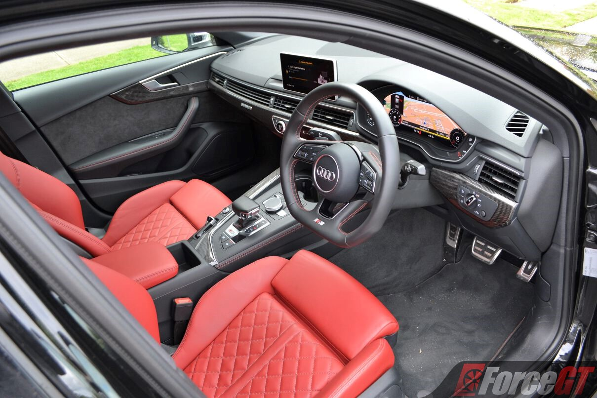 2017 Audi S4 Sedan Interior