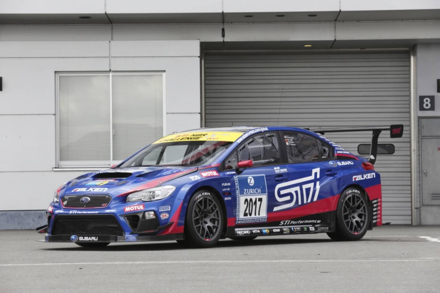 Subaru Wrx Sti Aiming For Third N 252 Rburgring 24h Race