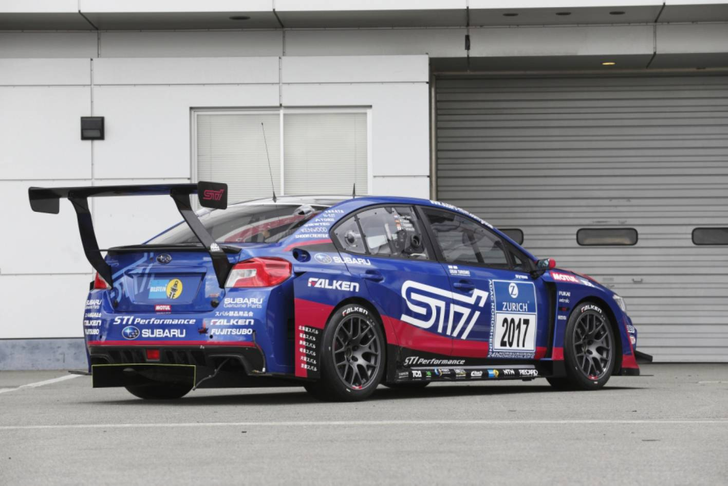 Subaru WRX STI aiming for third Nürburgring 24h race victory