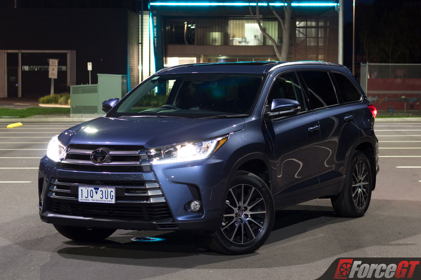 2017 Toyota Kluger Grande Awd Review Forcegt Com