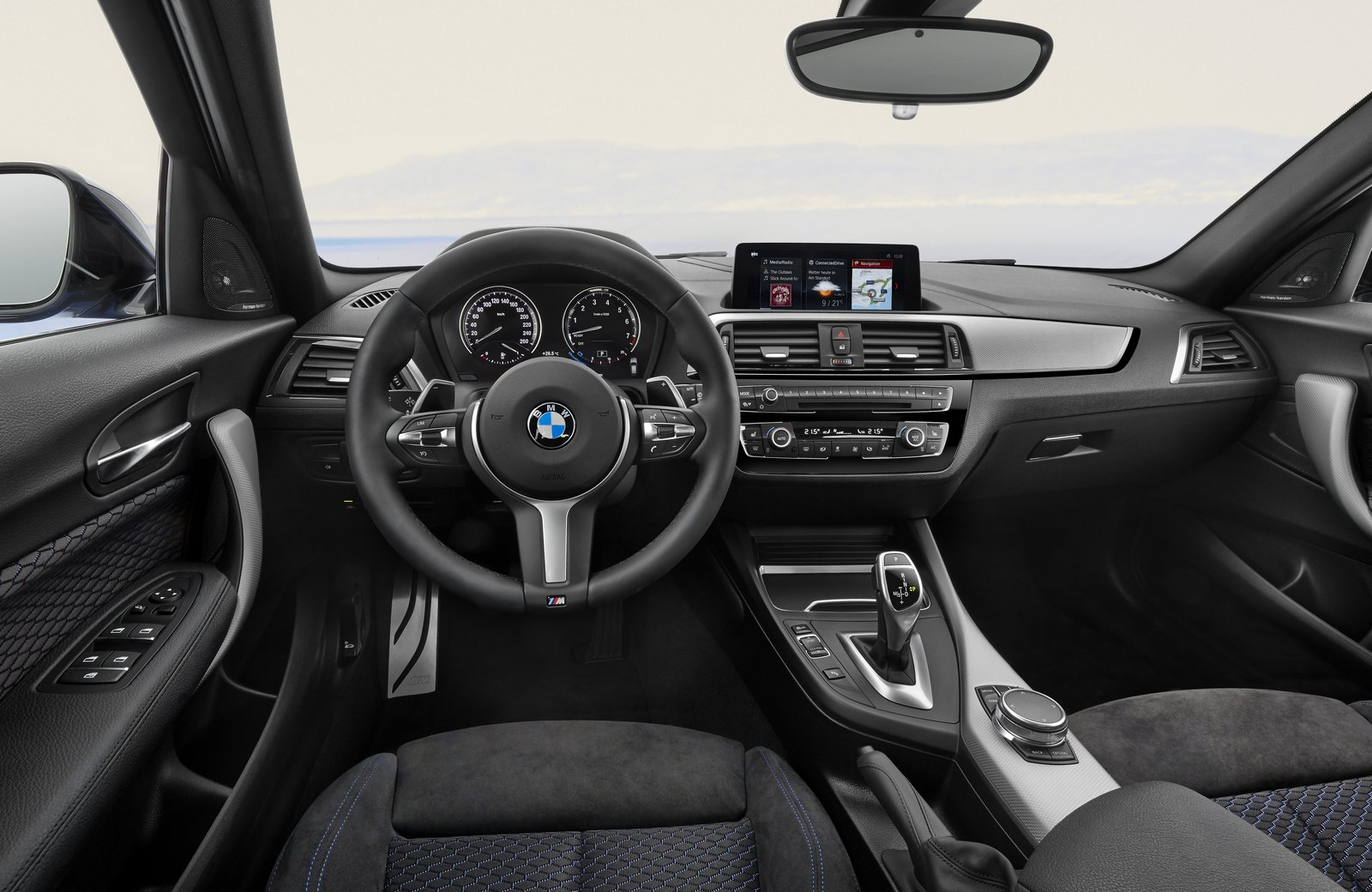 Bmw X3 2017 Interior >> 2018 BMW 1 Series refreshed with new interior and more ...