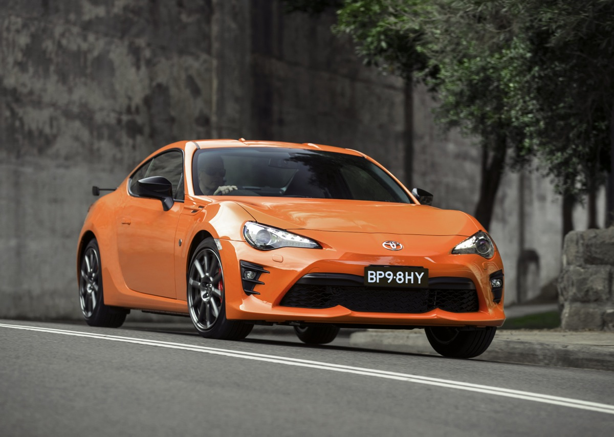 toyota 86 limited edition gains chassis and interior