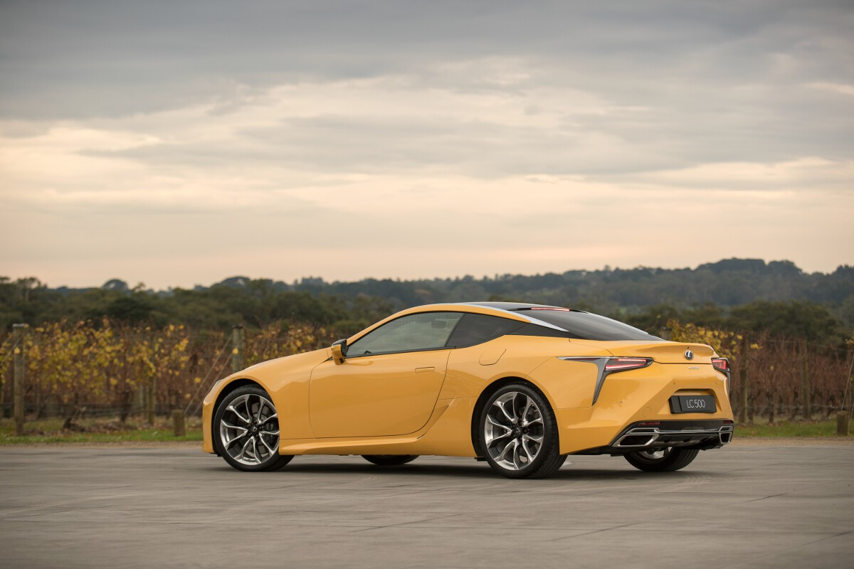 Lexus Lc Coupe Launched In Australia Price And