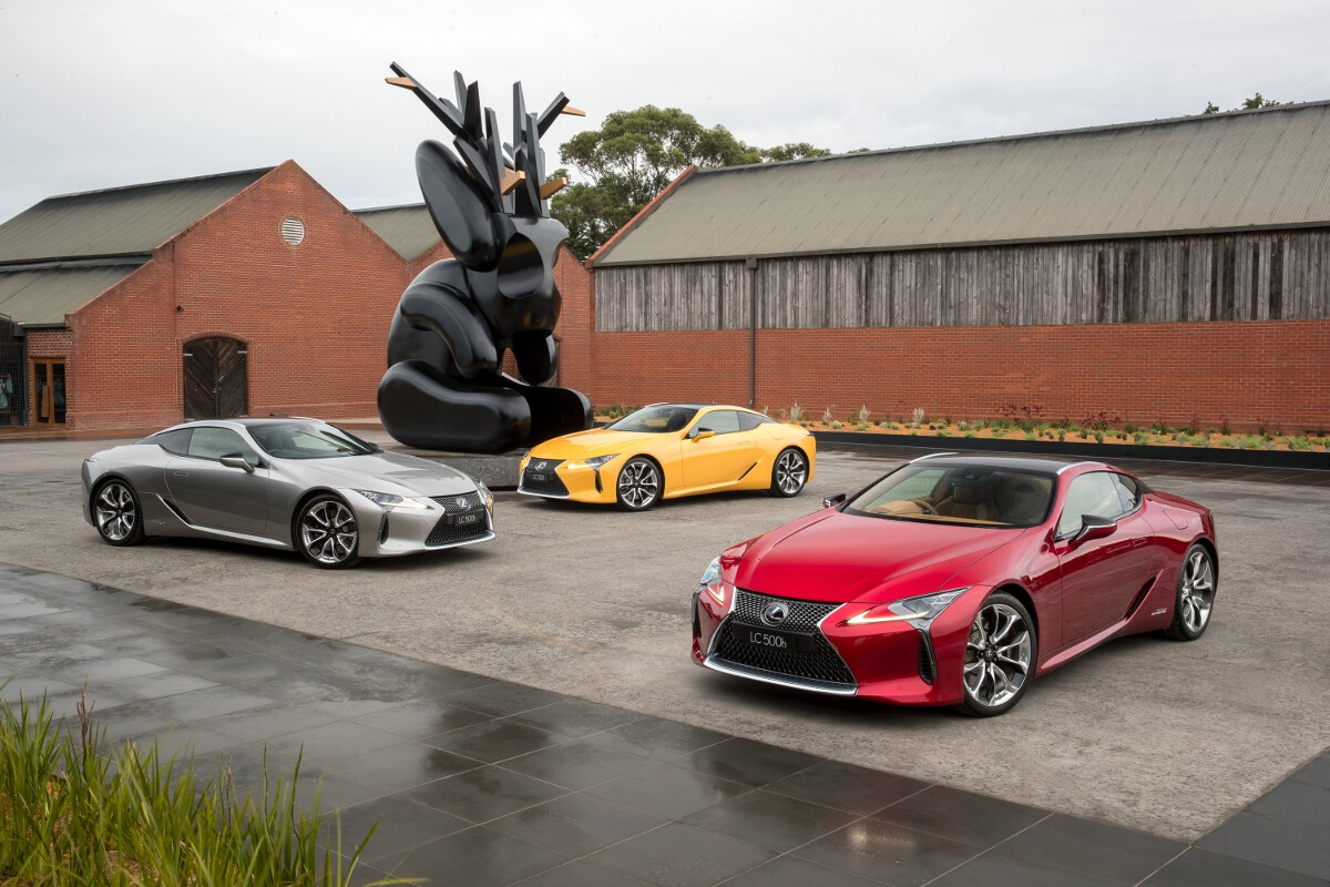 Lexus lc coupe launched in australia price and specification