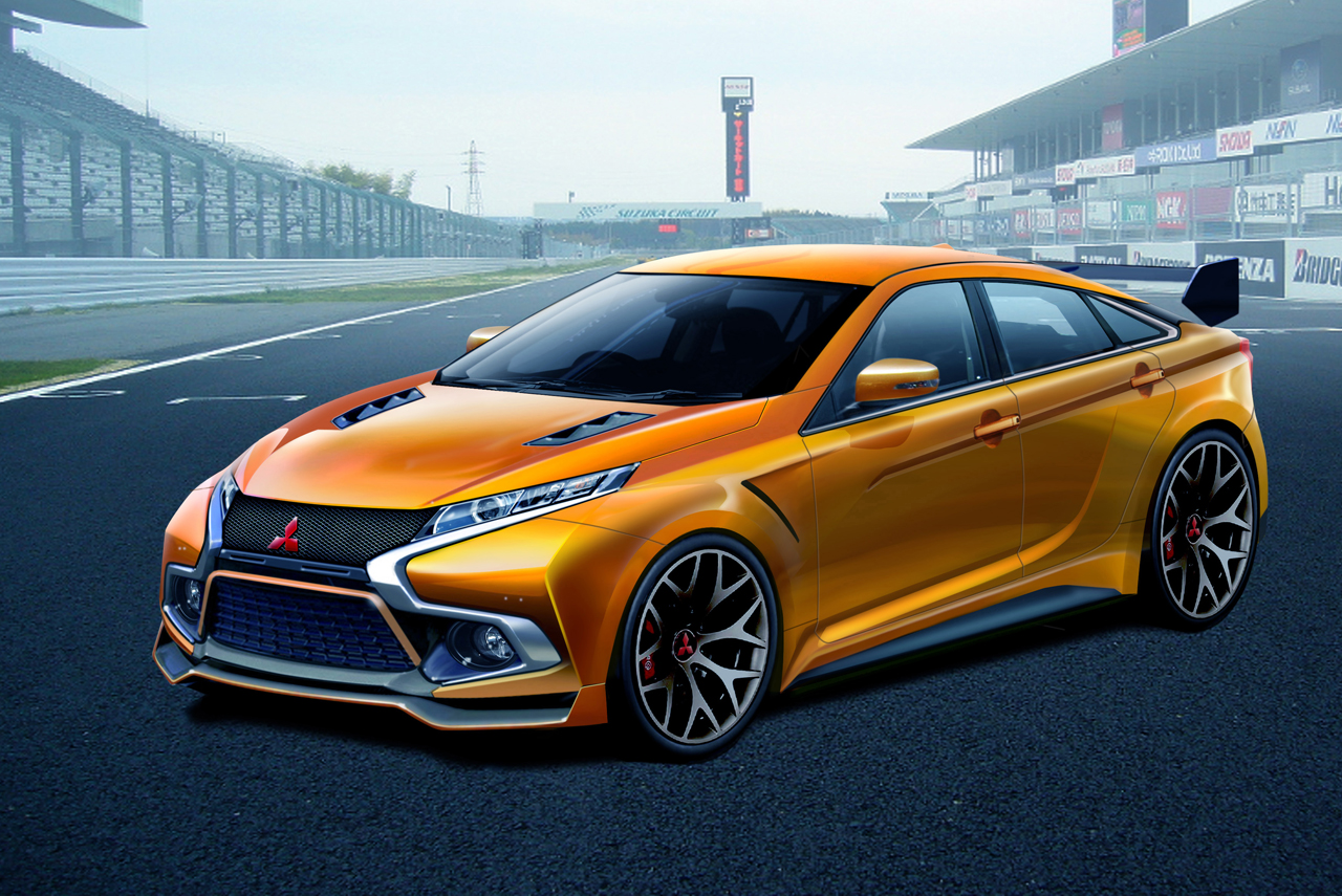 While We Already Know Mitsubishi Would Not Be Building A New Lancer Evolution After This Generation That Doesn T Stop Creative Minds From Coming Up With