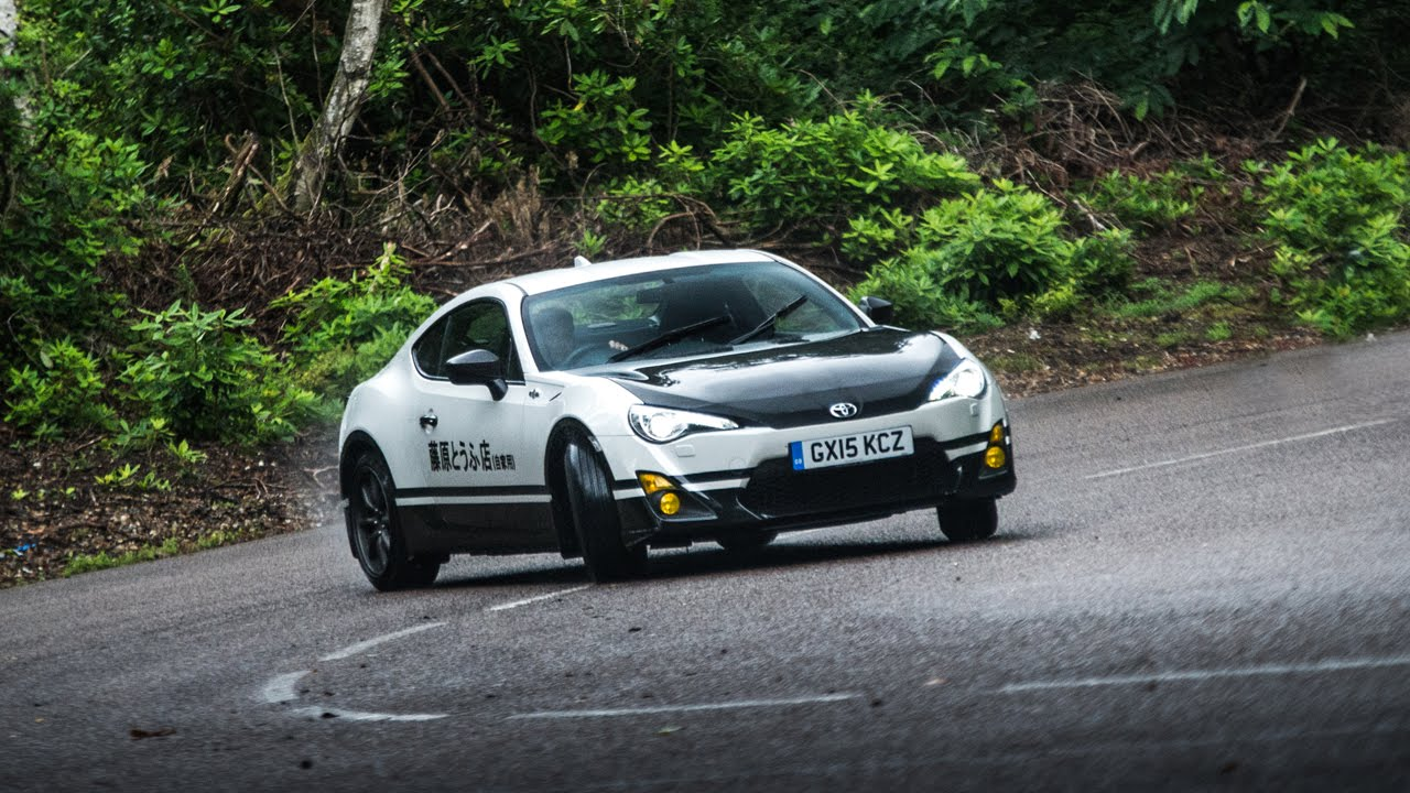 Toyota Uk Creates Gt86 Initial D Concept Forcegt Com