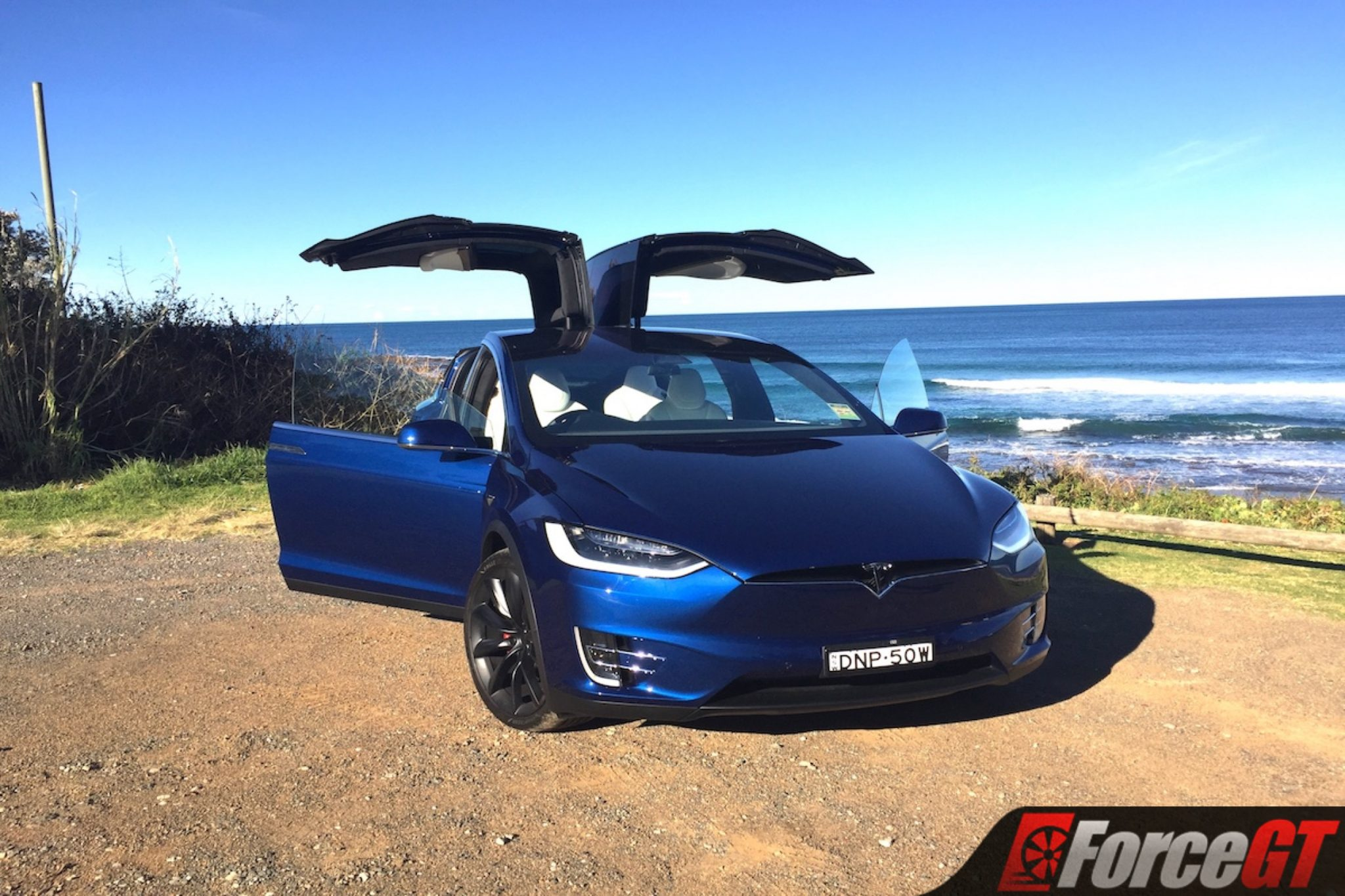 2017 Tesla Model X P100D Review - 10 coolest features ...
