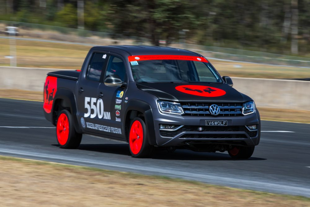 Custom Built Volkswagen Amarok V6 Leaps Golf Gti At Wtac