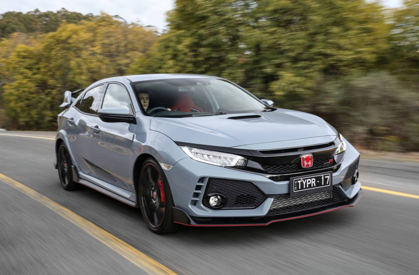 Pearlescent Car Paint >> 2018 Honda Civic Type R: Technical Overview - ForceGT.com